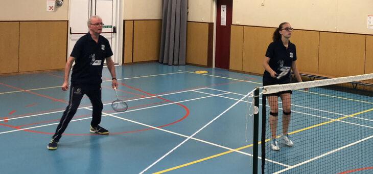 Badminton competitie 2021/2022